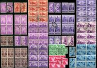 USA Postage Stamps SC# 894-898 902-904 906-908 Collection 1940-1943 Used MLH