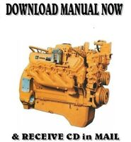 1985 CATERPILLAR 3208 DIESEL TRUCK ENGINE SERVICE SHOP REPAIR MANUAL on CD