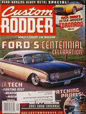 CUSTOM RODDER  September 2003  Vol. 13  No.5
