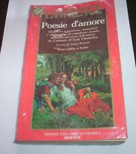 LAWRENCE poesie d'amore 1990 Newton libro