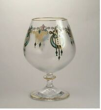 Bohemia crystal glassware Goblet - Athos - made in Czech republic. Set of 6