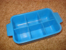 VINTAGE FISHER PRICE GROCERY KITCHEN FUN PLAY FOOD REFRIGERATOR IcE CuBE TrAY