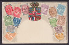 Zieher #2 unused PPC. Stamps of Denmark, Embossed
