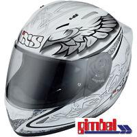 """IXS Helm  HX 406 """"MYSTIC"""" Carbon-Fiberglas Motorradhelm*  Gr L (59-60)"""