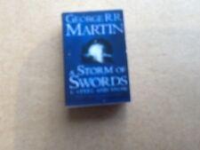 Storm of Swords - Grr Martin - Game of Thrones Book for your Dollshouse