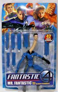 Marvel Fantastic 4 Movie Mr. Fantastic Action Figure ToyBiz 2005 NIB