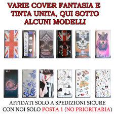Cover fantasia in silicone o rigide x smartphone samsung,iphone,lg,huawei,nokia