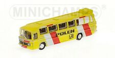 Bus Mercedes Benz O302 Nazionale Polen 1974 1:160 Model MINICHAMPS