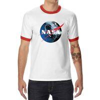 NASA Old Style Space Rocket Moon Men Women Vest Tank Top Unisex T Shirt 2107