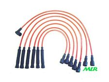 BMW E30 3 SERIES 320 323 325 325i 735 RED 8MM SILICONE IGNITION HT LEADS BI