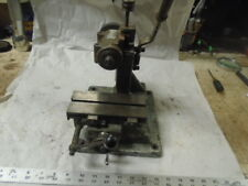 MACHINIST LATHE MILL  Jewelers Micro Small RARE RJS Germany Mill Milling Machine