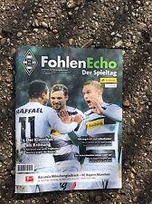Programm Borussia Mönchengladbach - FC Bayern München 19.03.17 FCB Gladbach