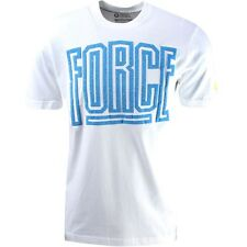 $29.99 659144-100 Nike Qt S+ Command Force Tee white photo blue