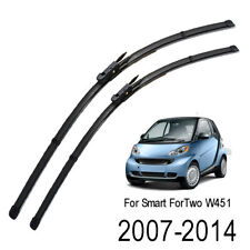 """2Pcs Front Windshield Wiper Blades Set For Smart ForTwo W451 2007-2014 23"""" 21"""""""
