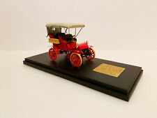 1/43 EMC 1903 Cadillac Model A Top Up / red and cream top