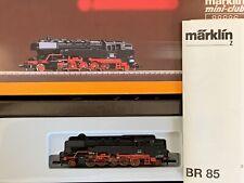 Märklin Z 88886 Schwere Tenderlok BR 85 DB 5-pol.Motor, TOP + OVP
