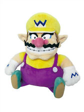 "1x Little Buddy Super Mario (1421) All Star Collection - Wario 10"" Stuffed Plush"