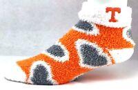 Tennessee Volunteers NCAA Orange White Gray Fuzzy Socks