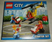 60100 Lego City Airport Airport Starter Set Ages 5-12 & 81 Pieces New 2016