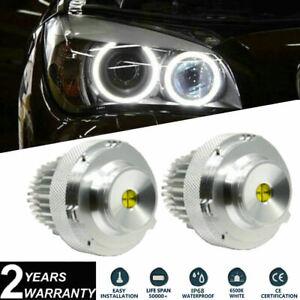 2x 40W Cree LED Angel Eye Halo Ring Bulbs White 6000K For BMW E60 E61 LCI 07-10