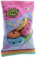 2 Scoops Jelly Beans Plushies Pillow iScream Bag Of Multicolored  Easter NWT
