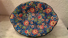 EMAUX DE LONGWY COUPE - Schale Handmade DECOR FLORAL 5670 - Art Deco