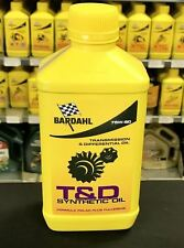 BARDHAL T&D SINTÉTICO OIL 75W90 LUBRICANTE CAMBIO TRANSMISIONES DIFERENCIALES