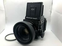 【Near MINT】 Mamiya RB67 Pro S + Sekor NB 127mm f3.8 Lens + 120 Back from JAPAN