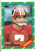 1986 TOPPS JOE THEISMANN (NM/MT)