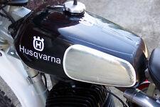 Husqvarna 74-'78 Chrome Knee Decals Gas Tank Husky VMX AHRMA CR