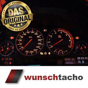 Tachoscheibe für BMW E38-E39 /E53 /X5  M5 -Look 300 Kmh für Benziner