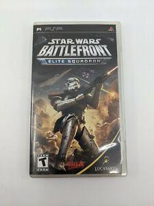 Star Wars Battlefront Elite Squadron (Sony PSP Video Game) Complete