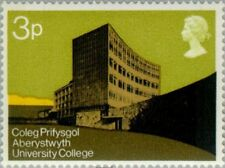 GREAT BRITAIN -1971-Physical Sciences Building, University College of Wales/#657