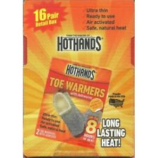 HeatMax 16 Pairs of Hothands Toe Warmers with Adhesive (32 Total)