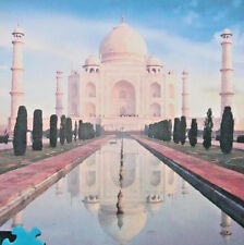 jigsaw puzzle 1000 pc Taj Mahal India Buffalo Games Inc bonus poster