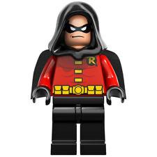 LEGO DC Super Heroes Robin - Black Cape and Hood Minifigure