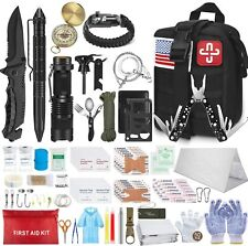 Survival Molle First Aid Kit Emergency Gear Military Trauma Bag Professional 152