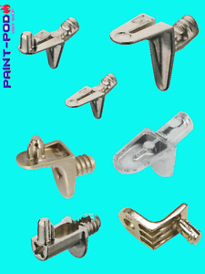 STRONG SHELF SUPPORTS PLUG IN PINS PEGS CLIP 5MM HOLE CABINET CUPBOARD BOOKCASE
