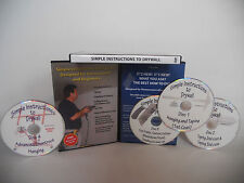 Simple Instructions to Drywall, 4 DVD's, New
