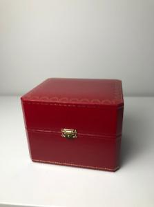 Cartier Watch Box Case w/ Original Booklets - COWA0050 100% Authentic