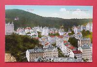 AK KARLSBAD in Böhmen um 1910 Blick auf die Parkstrasse und Westend  ( 34512