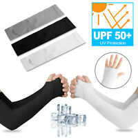 1-10 Pairs Cooling Arm Sleeves Cover UV Sun Protection Basketball For Men Women