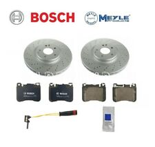 For Mercedes W203 C230 Sedan BOSCH Ceramic Front Brake KIT w/ Sport Package