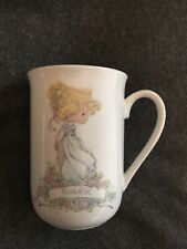 "Authentic Precious Moments Vintage ""Cheryl� Name Collectible Coffee Mug (1990)"