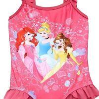 Disney Princess Pink 18-24m Baby Girls Swimming Costume BNWT Swimsuit RRP £17