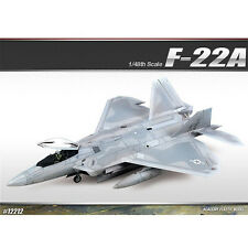 [Free Shipping] ACADEMY 1/48 F-22A Air Dominance Fighter Plastic Model #12212