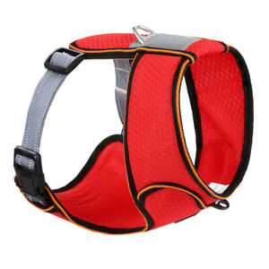 Pet Dog Harness Breathable Mesh No Pull Padded Outdoor Dog Sport Vest Reflective
