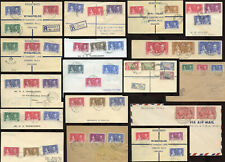 BRITISH COMMONWEALTH 1937 CORONATION FIRST DAY COVERS PRICED SINGLY FDCs