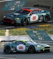 Decals Aston Martin DBR9 Le Mans 2006 1:32 1:43 1:24 1:18 87 slot AMR calcas