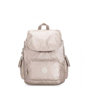 Kipling Backpack Rucksack CITY PACK S METALLIC GLOW  RRP £93